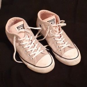 Converse all star pink/grey Chuck Taylor's